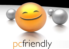 PC Friendly Logo